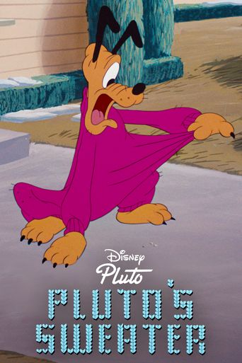 Pluto's Sweater Poster