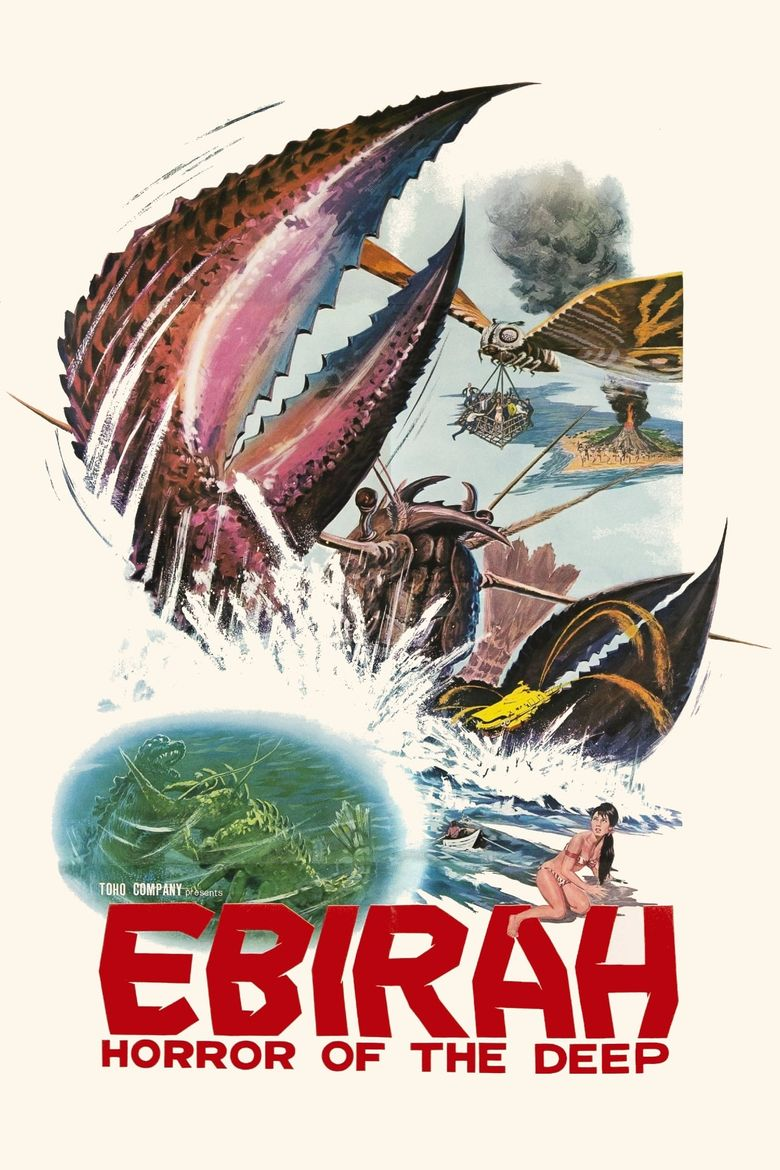 Ebirah, Horror of the Deep Poster