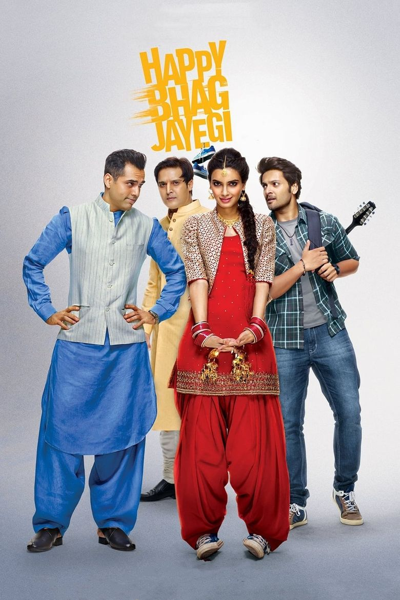 Happy Bhag Jayegi Poster