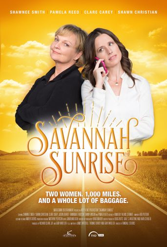 Savannah Sunrise Poster