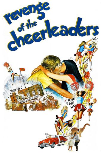 Revenge of the Cheerleaders Poster