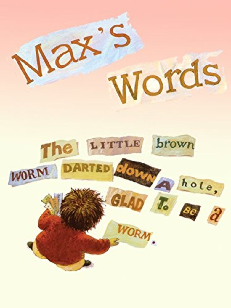 Max's Words Poster