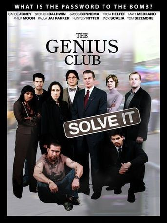 The Genius Club Poster
