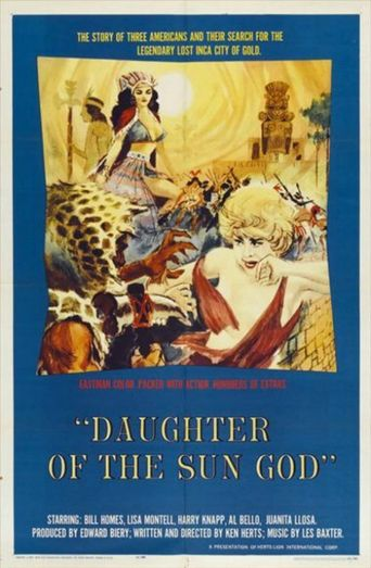 Daughter of the Sun God Poster