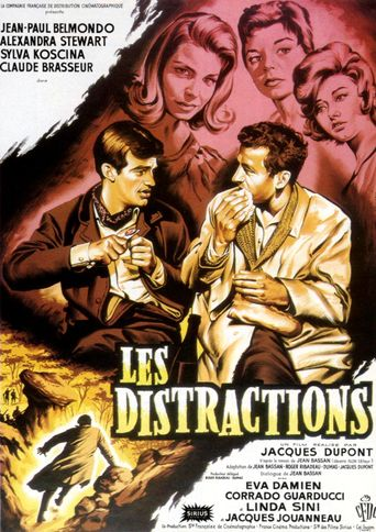 Les Distractions Poster
