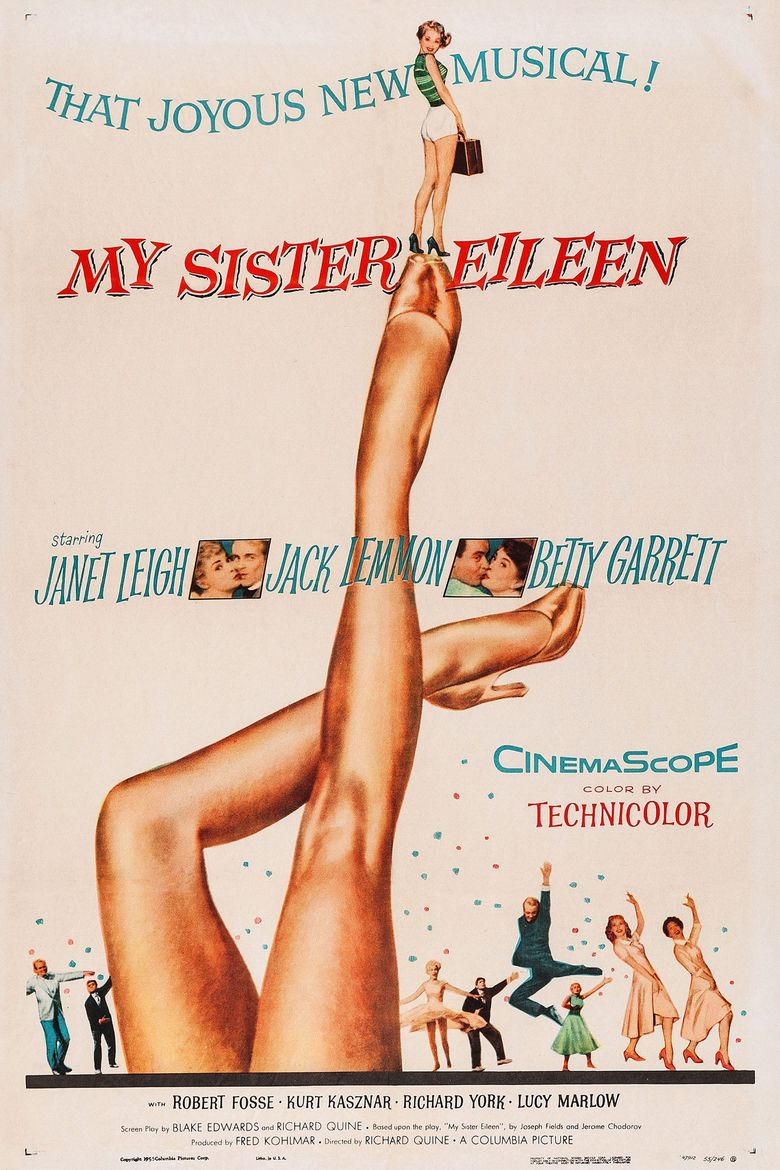 My Sister Eileen Poster