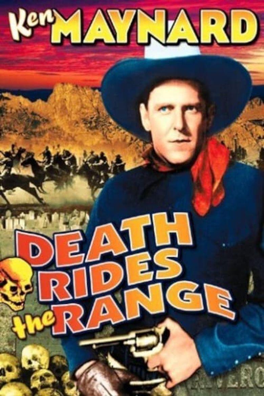 Death Rides the Range Poster