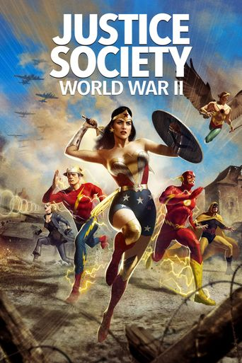 Justice Society: World War II Poster