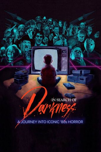 In Search of Darkness: A Journey Into Iconic '80s Horror Poster