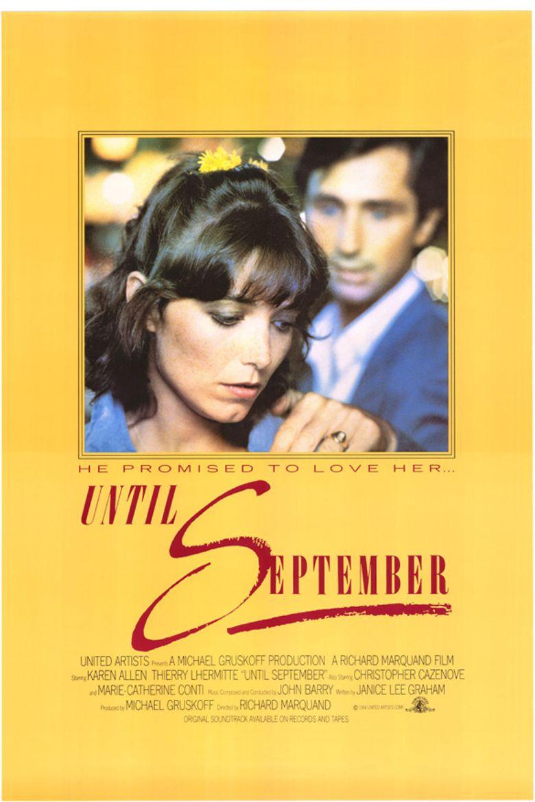 Until September Poster
