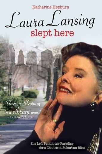Laura Lansing Slept Here Poster