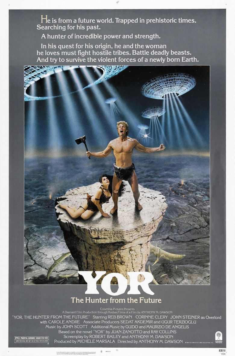 Yor, the Hunter from the Future Poster