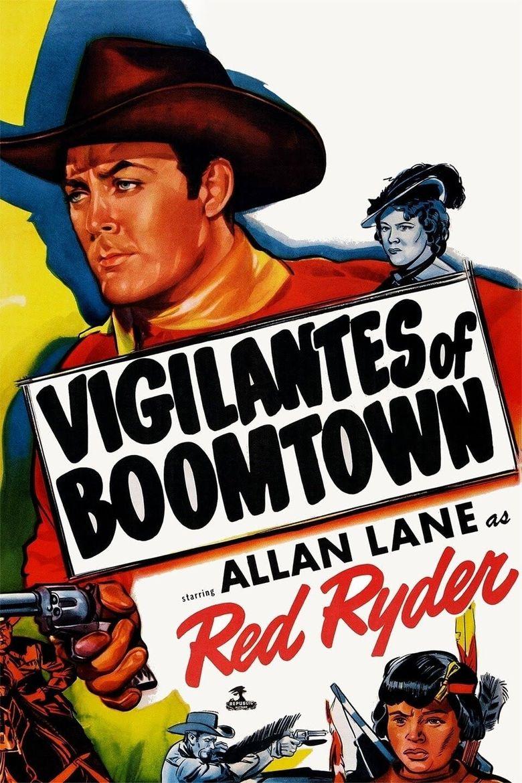 Vigilantes of Boomtown Poster