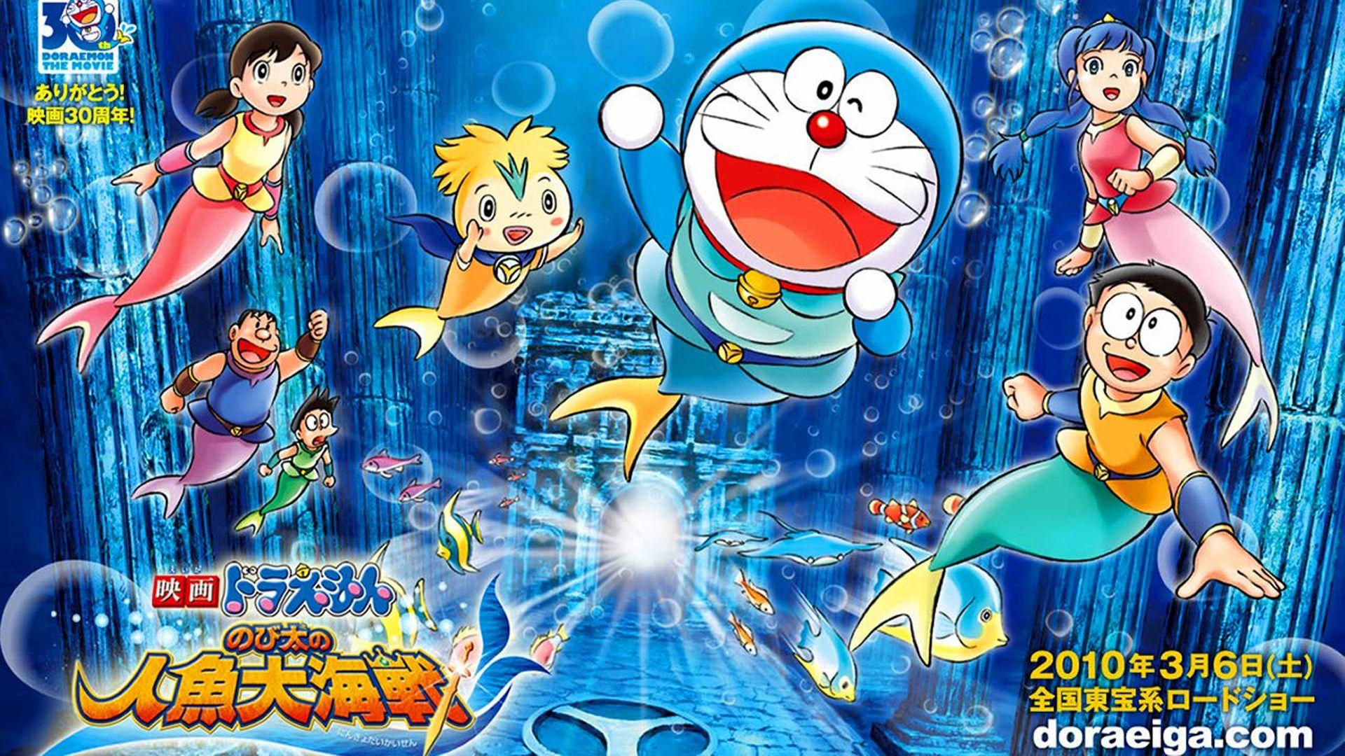 Doraemon: Nobita's Great Battle of the Mermaid King (2010) - Where ...