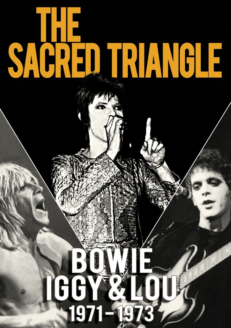 The Sacred Triangle: Bowie, Iggy & Lou 1971-1973 Poster