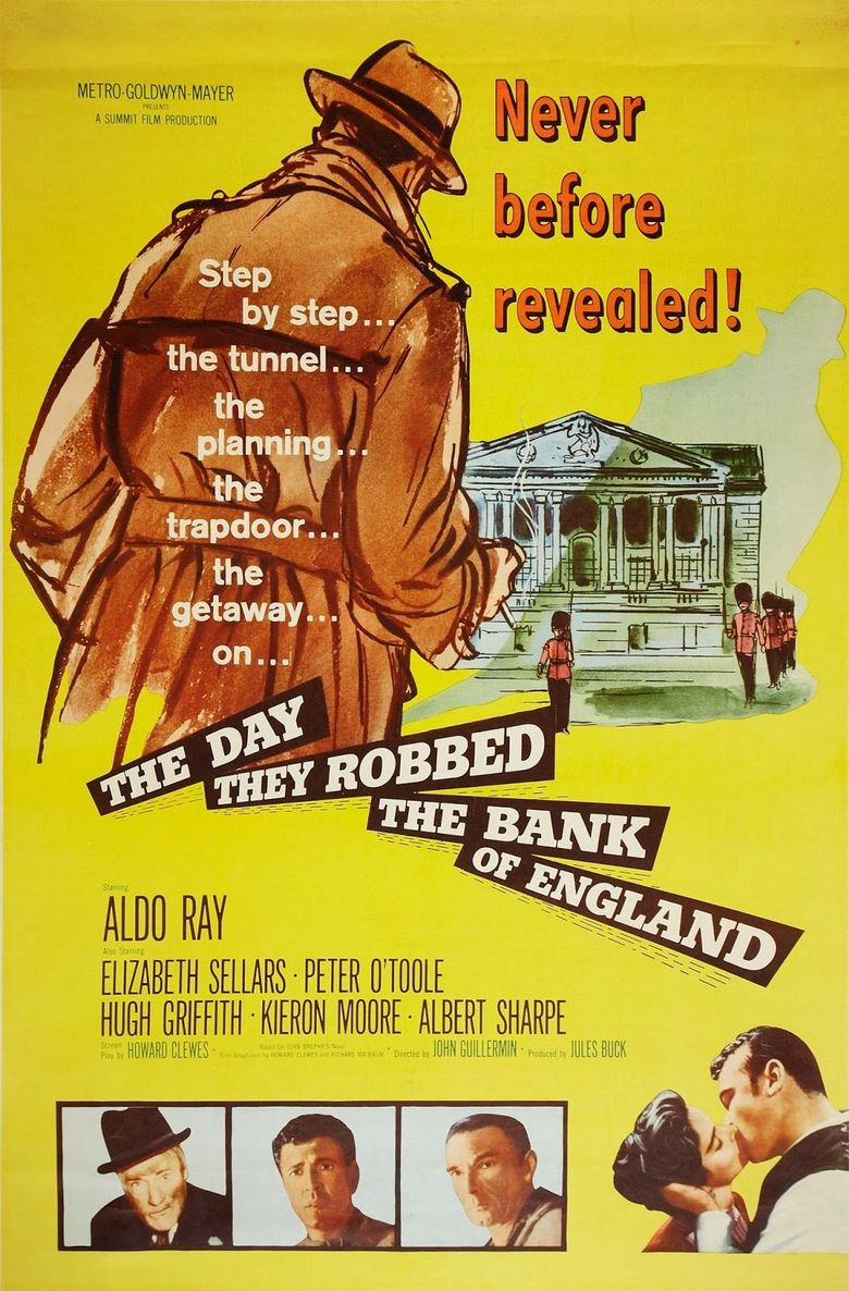 The Day They Robbed the Bank of England Poster