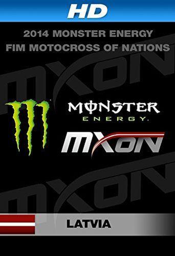2014 Monster Energy FIM Motocross of Nations Poster