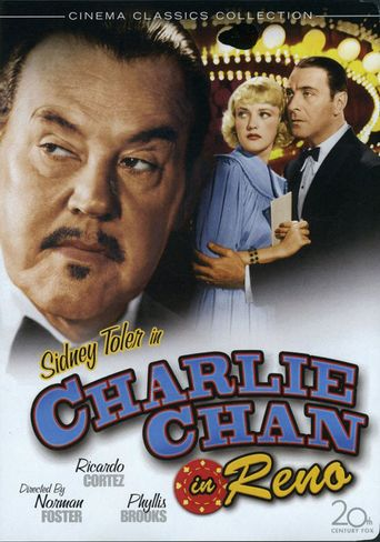 Charlie Chan in Reno Poster