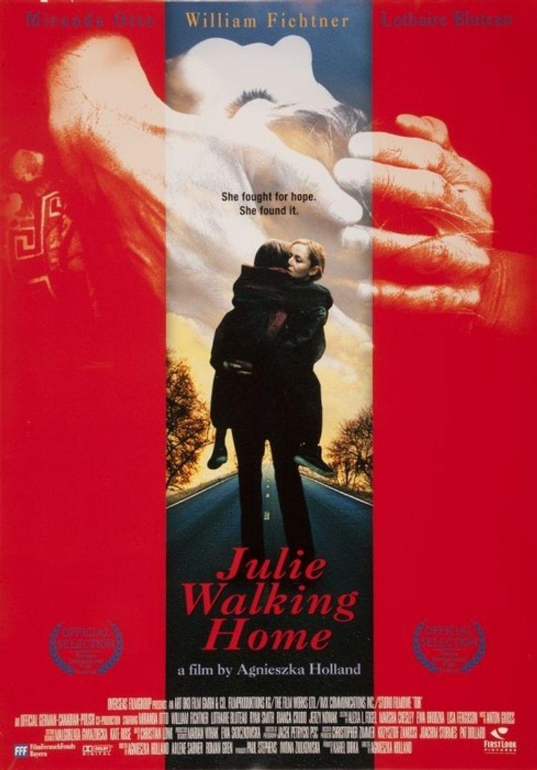 Julie Walking Home Poster