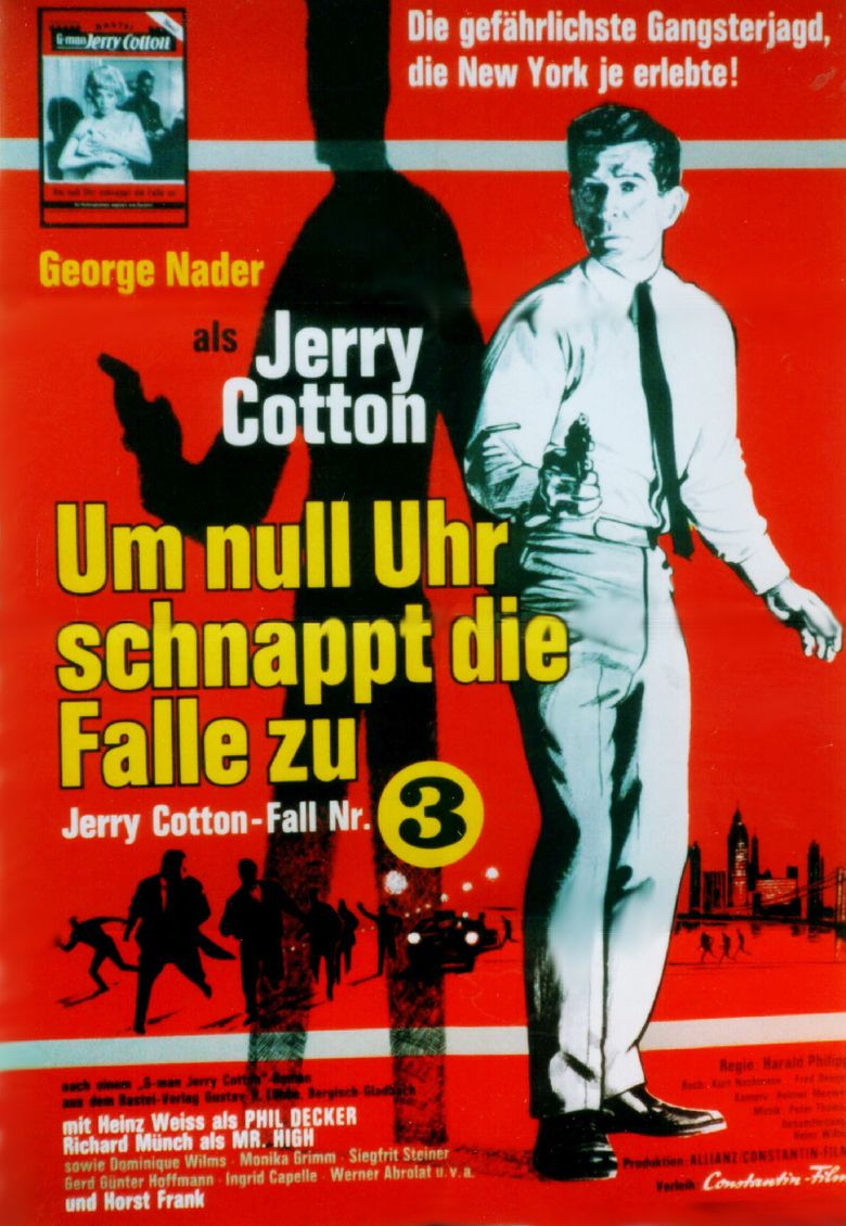 Jerry Cotton: The Trap Snaps Shut at Midnight Poster