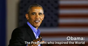 Obama: The President Who Inspired the World Poster