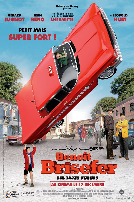 Benoît Brisefer : Les taxis rouges Poster