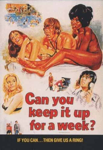 Can You Keep It Up for a Week? Poster