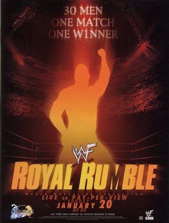 WWE Royal Rumble 2002 Poster