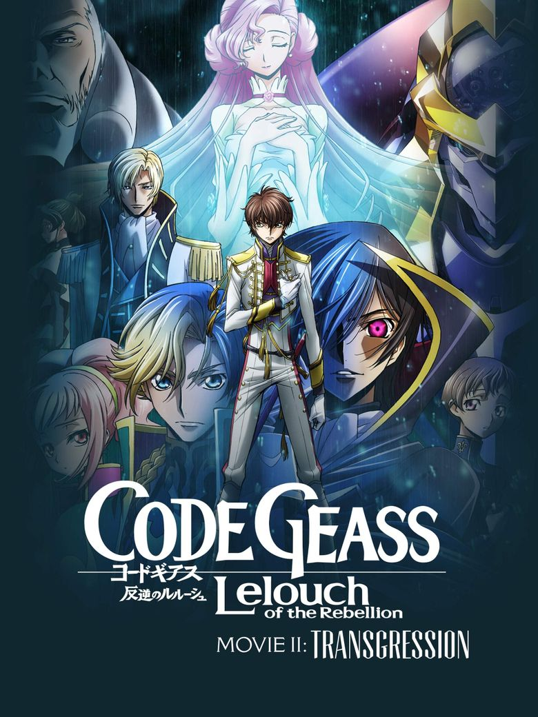 Code Geass: Lelouch of the Rebellion - Transgression Poster