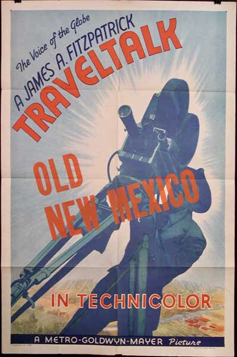 Old New Mexico Poster
