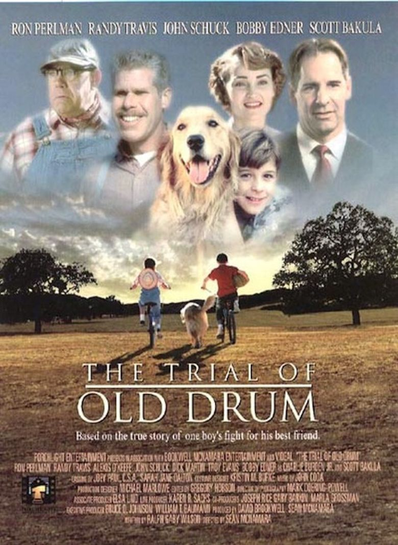 The Trial of Old Drum Poster