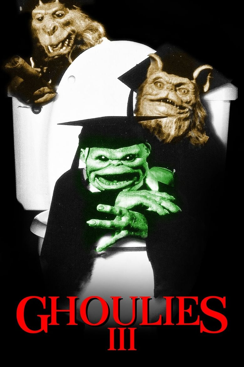 Ghoulies III: Ghoulies Go to College Poster