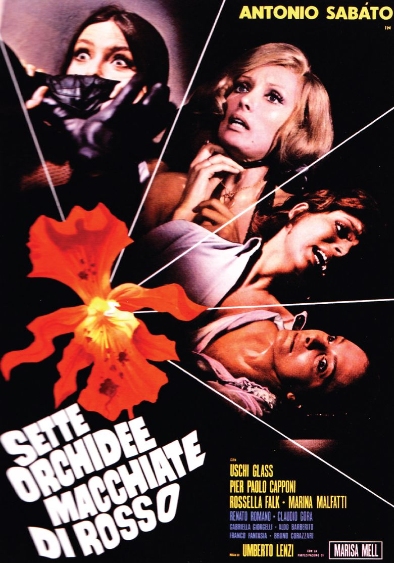 Seven Blood-Stained Orchids Poster