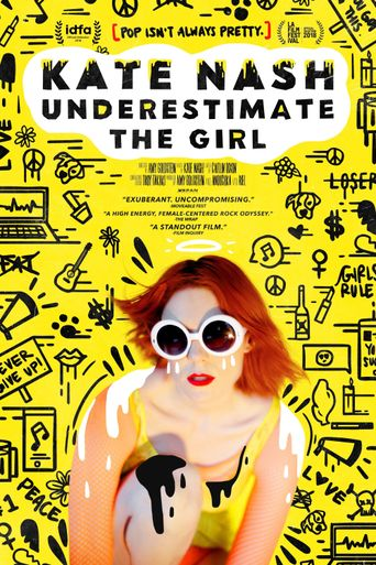 Kate Nash: Underestimate the Girl Poster