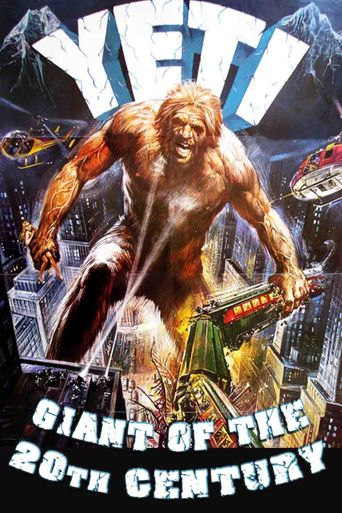 Yeti: The Giant of the 20th Century Poster