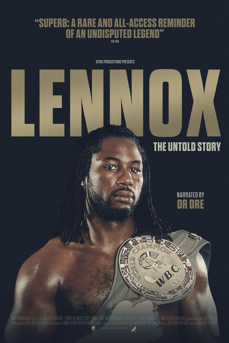 Lennox Lewis: The Untold Story Poster