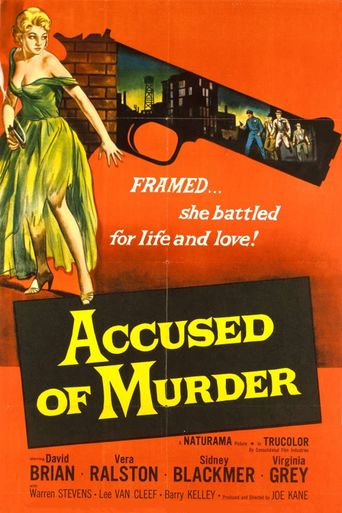 Accused of Murder Poster