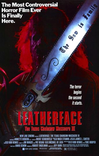 Leatherface: The Texas Chainsaw Massacre III Poster