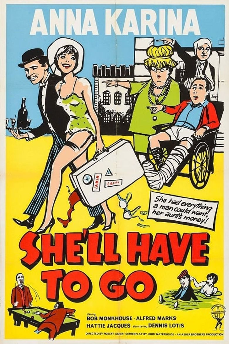 She'll Have to Go Poster