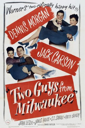 Two Guys from Milwaukee Poster