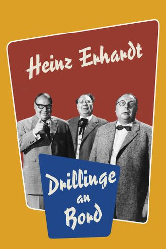 Drillinge an Bord Poster