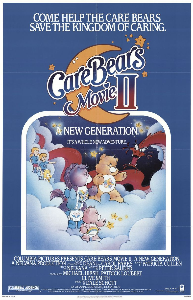 Care Bears Movie II: A New Generation Poster