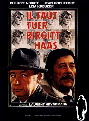 Birgitt Haas Must Be Killed Poster