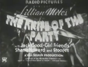 The Knife of the Party Poster