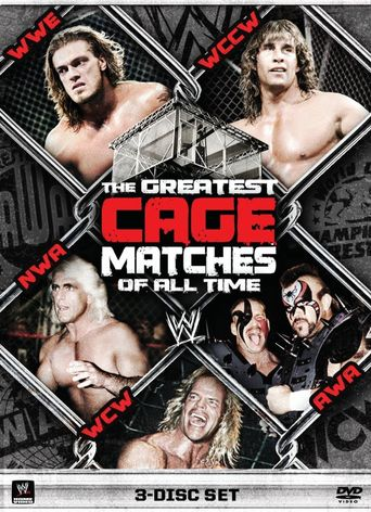 WWE: The Greatest Cage Matches Of All Time Poster