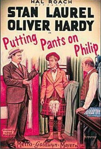 Putting Pants on Philip Poster