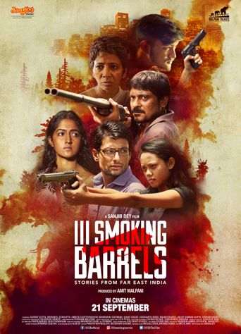 III Smoking Barrels Poster