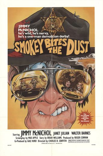 Smokey Bites the Dust Poster
