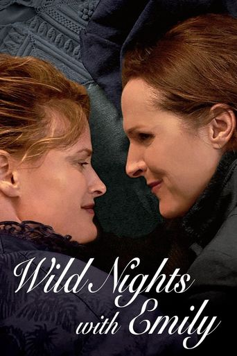Wild Nights with Emily Poster