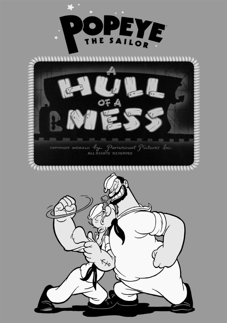 A Hull of a Mess Poster